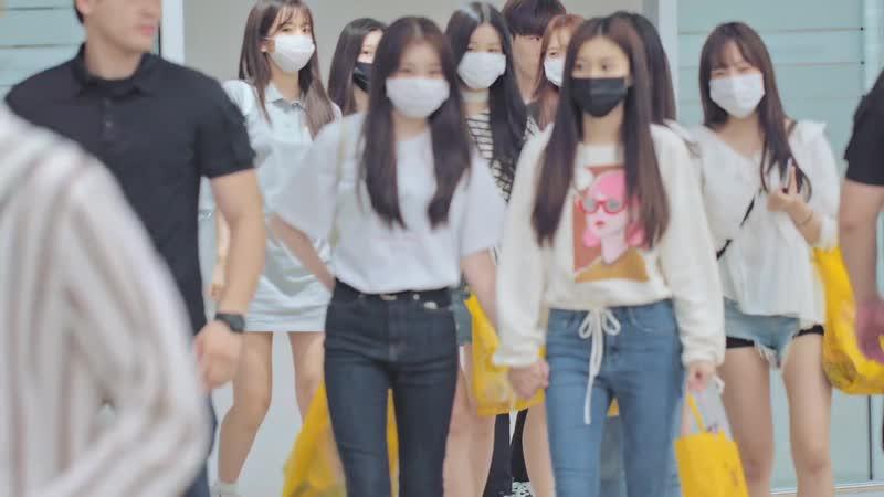 180905 Chaeyeon (IZ*ONE) @ Аэропорт Инчхон