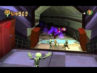 Прохождение Игры Скуби ду Зловещий Замок #3 Погоня