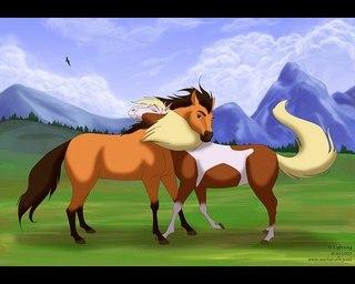 картинки лошадей аниме