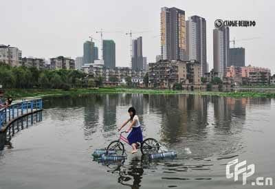 """""""Водный велосипед"""". RPIG2bzfIcI"""