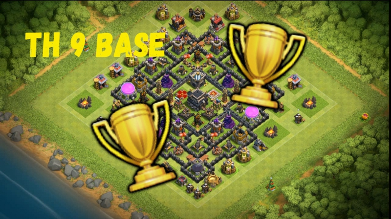 TH9 base for trophies
