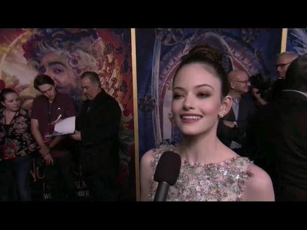 The Nutcracker and the Four Realms Premiere Interviews — Mackenzie Foy — 2018