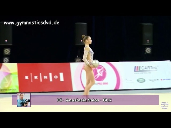 ANASTASIA SALOS, ball (BLR) — Grand Prix Brno 2018