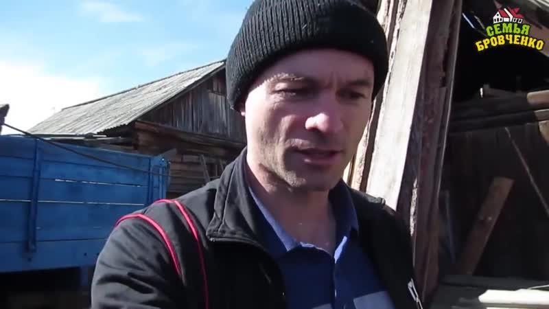 Семья Бровченко Как наша теплица из пленки Сибирь 3 перенесла зиму и ветра 04 16г