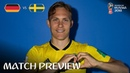 Ludwig Augustinsson Sweden Match 27 Preview 2018 FIFA World Cup™