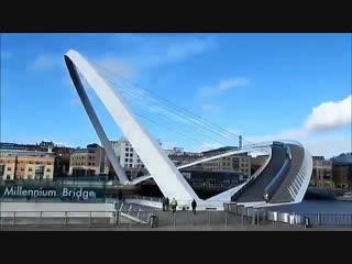 Вот такой интересный мост построили в Англии
