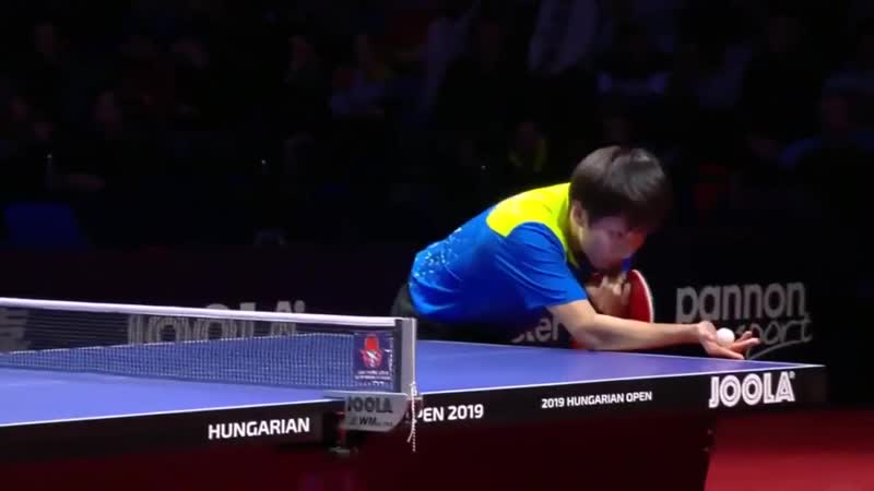 Lin Gaoyuan vs Vladimir Samsonov _ 2019 ITTF World Tour Hungarian Open Highlights (1_4)