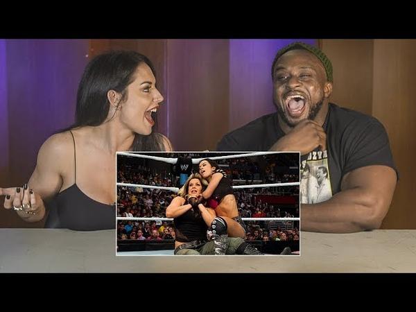 BFFs Big E Kaitlyn watch their SummerSlam 2013 tag bout WWE Playback