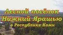 Таёжный п.Нижний Ярашью в Республике Коми.Верховье р.Вычегды.Российская глубинка
