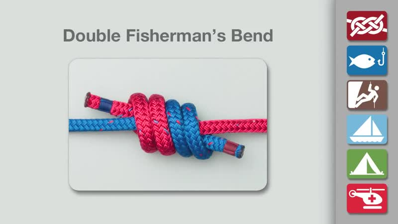 How to Tie the Double Fishermans Knot