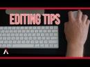 Beginner Editing Tips to Avoid
