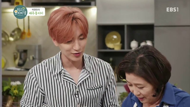 [171123] Best Secret to Cooking EP 214 with Leeteuk ^^