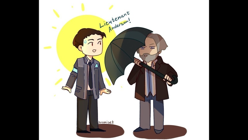 Detroit: become human Connor Hank Animation