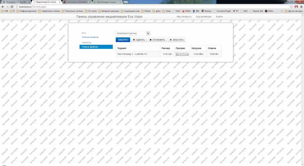 Мультимедиаплеер BlueTimes Eva Vision - Версия для печати