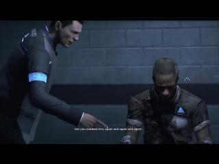 28 STAB WOUNDS MULTILANGUAGE - Connor interrogates deviant - Detroit- Become Human.mp4