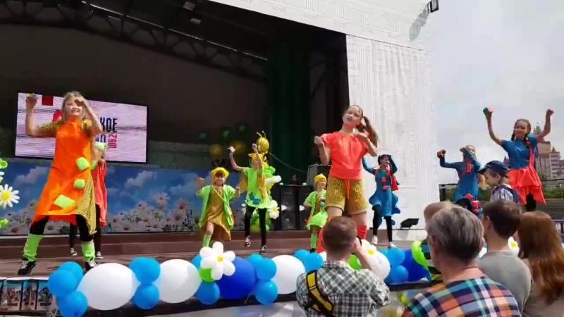Кубик рубик в парке Горького с новой постановочкой
