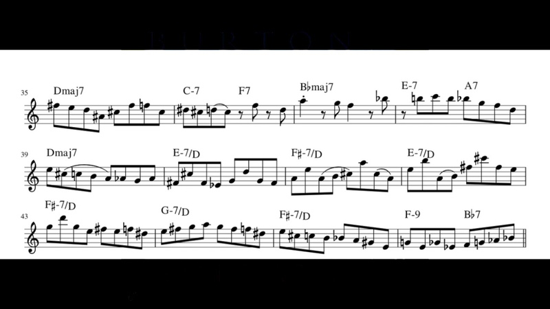 Elucidation - Pat Metheny (transcription)