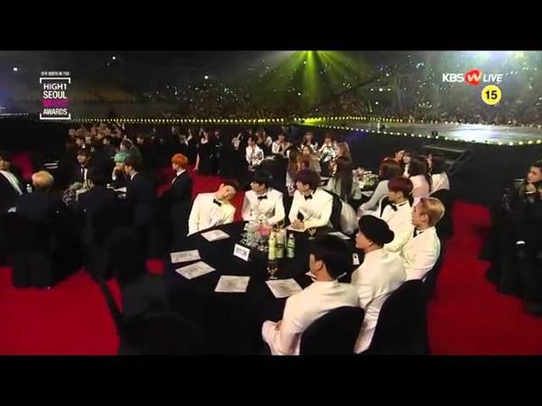 160114 서울가요대상 BTS (방탄소년단) 깨알컷 @ SEOUL MUSIC AWARDS