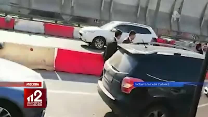 Гости хамской свадьбы толпой избили москвича на дороге