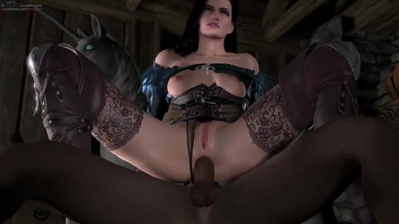 Yennefer-Black-Anal porn r34