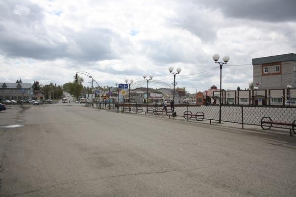 Так выглядит райончик Горно-Алтайска. Это далеко не центр города.