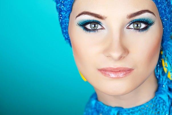 как наносить вечерний макияж видео