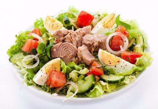 Салат из тунца с фото