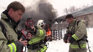Лучший начальник караула Федеральной противопожарной службы МЧС России служит в Казанском Кремле