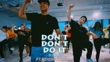 N.E.R.D - Don't Don't Do it ft. Kendrick Lamar (Live Sound) Yehwan Choreography