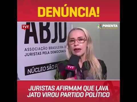 A Justiça brasileira está refém da operação Lava Jato, que funciona como um partido político.
