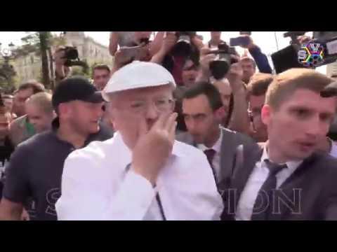 Жириновский подрался на митинге 9 сентября