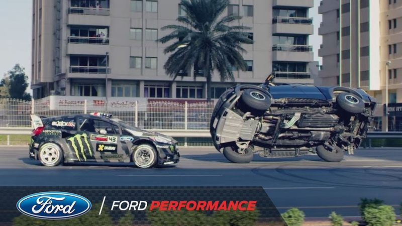 Ken Block\'s Ultimate Exotic Playground in Dubai | Gymkhana | Ford Performance