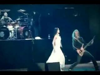 Nightwish Over The Hills And Far Away with lyrics, Tarja Turunen