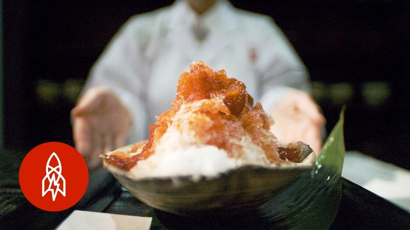 In Japan, Shaved Ice Goes Gourmet