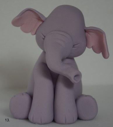 Картинки по запросу Слоник из мастики для детского торта