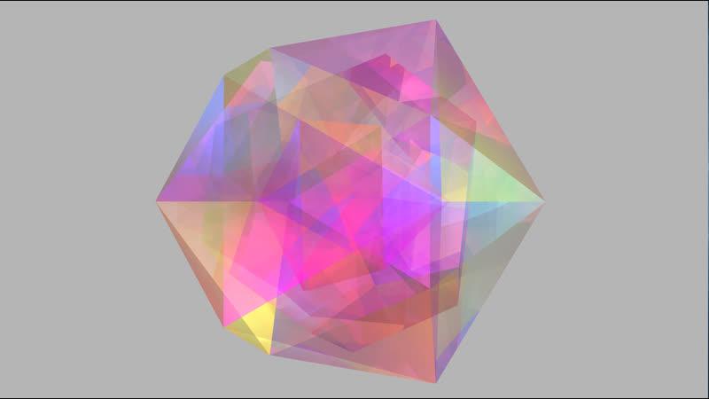 октаэдр внутри додекаэдра который внутри икосаэдра