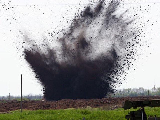 Недалеко от Таганрога в Матвеево-Курганском районе найден и разминирован неразорвавшийся украинский снаряд от «Града»