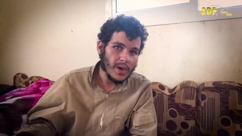 Пленный террорист ИГ рассказывает ситуацию в Хажин.