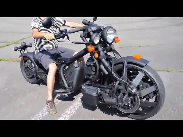 😵 ПереднеПриводные и ПолноПриводные Мотоциклы 💪!