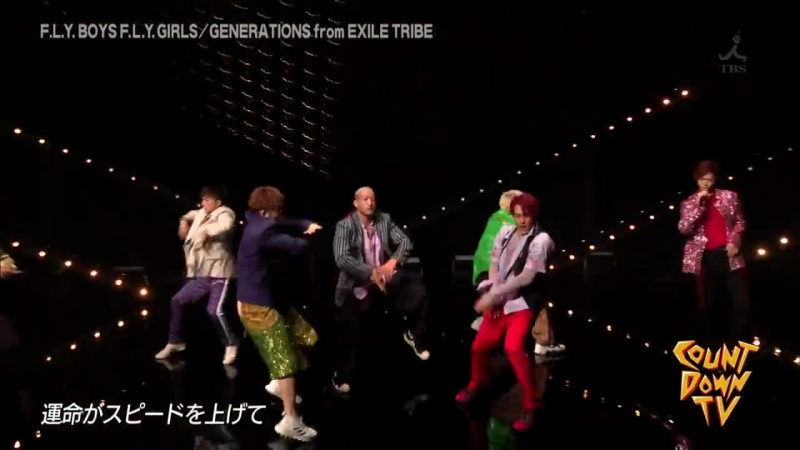 【GENERATIONS】CDTV 20180616 CUT F.L.Y. BOYS F.L.Y. GIRLS LIVE PERFORMANCE