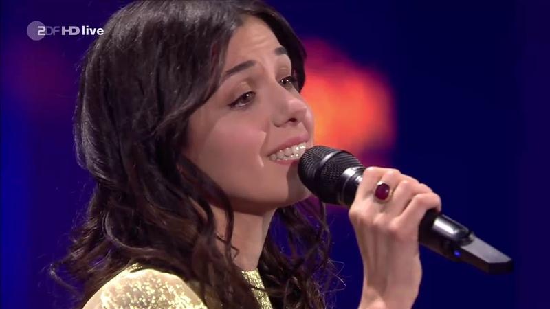 Katie Melua Lang Lang performing 'What a Wonderful World' at Goldene Kamera Awards (30.03.19)
