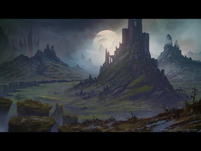 Digital Speed Painting - Fantasy Landscape - Rift