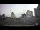 Минск. Ауди врезался в киоск