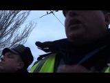 ГАИ Луганска. Не дал развести или