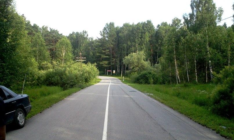 Живописная дорога возле села Колывань