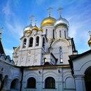 Собор Рождества Пресвятой Богородицы Женского Зачатьевского монастыря недалеко от Остоженк…