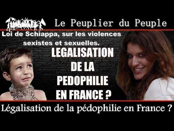 La pédophilie légalisée en France ? Loi Schiappa ( Août 2018 )