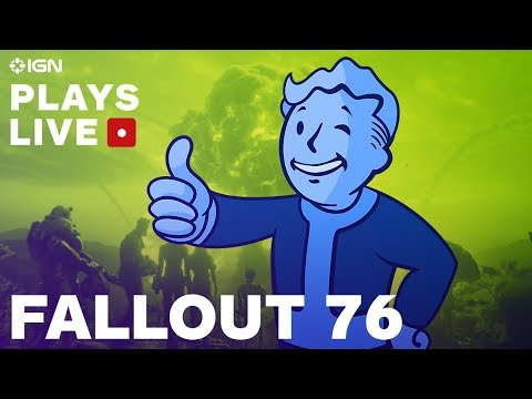 Fallout 76 Brotherhood of Steel Faction Questing IGN Plays Live