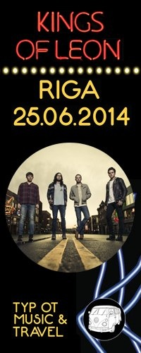 Kings Of Leon - Рига - 25.06.2014 - M&T