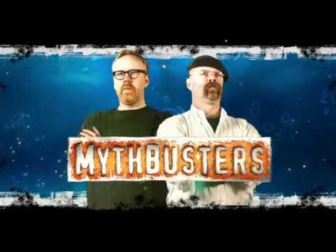 Разрушители легенд Сверхзвуковой шарик - Ледяная пушка MythBusters s15 07